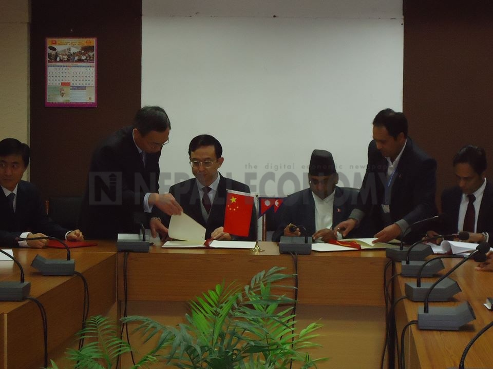 Nepal, China sign loan agreement to procure six aircraft for national flag carrier