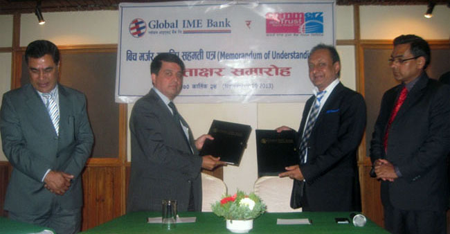 Global IME' Commerz and Trust Bank Nepal plan merger