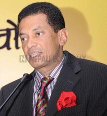 Finance Minister honours Nepal Telecom, Siddhartha Rana