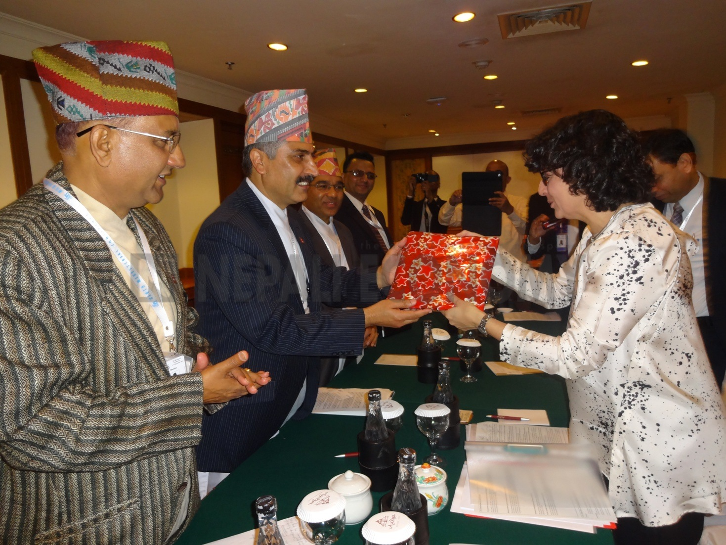 Koirala seeks ITC help to promote Nepal tea