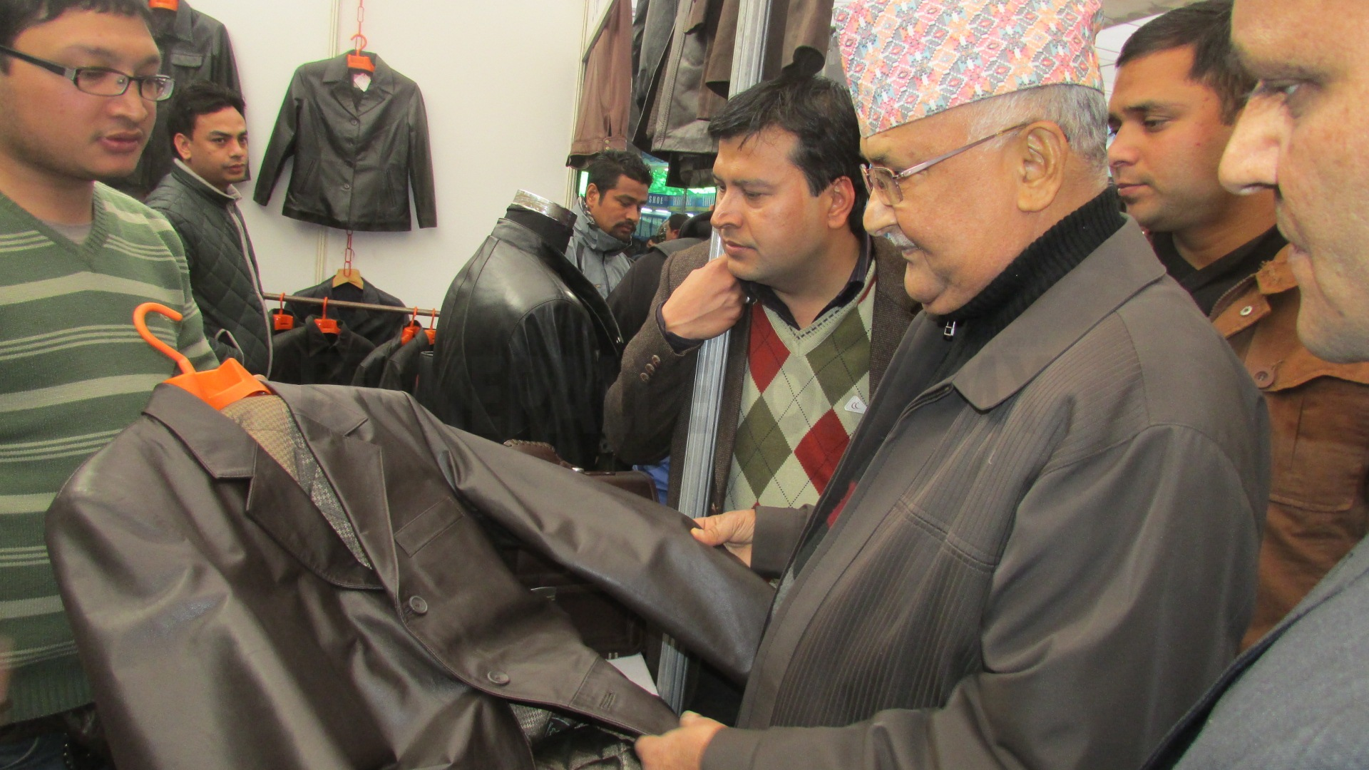 Leather goods and footwear expo concludes