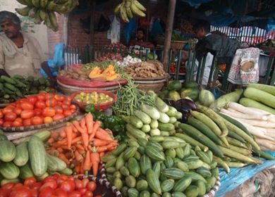 Kalimati vegetable market imports only a quarter of supplies