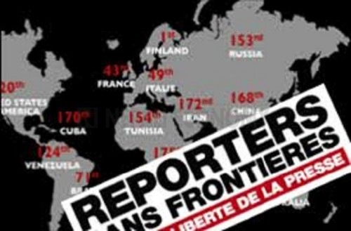 Nepal slips two places in World Press Freedom Index