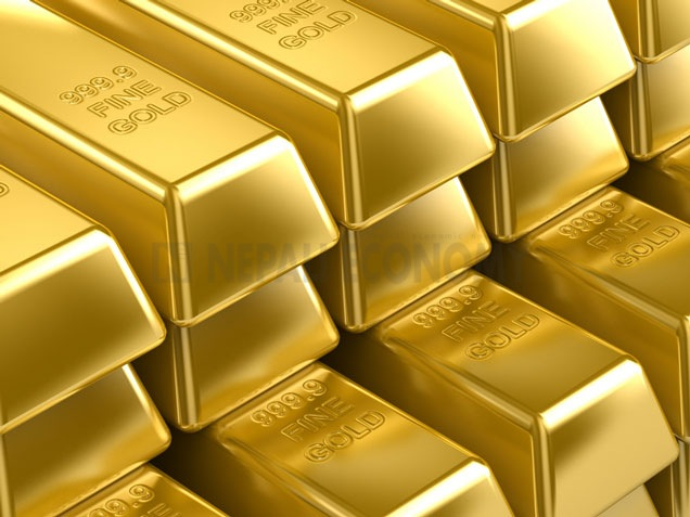 Gold price drops to Rs 54,000 per tola