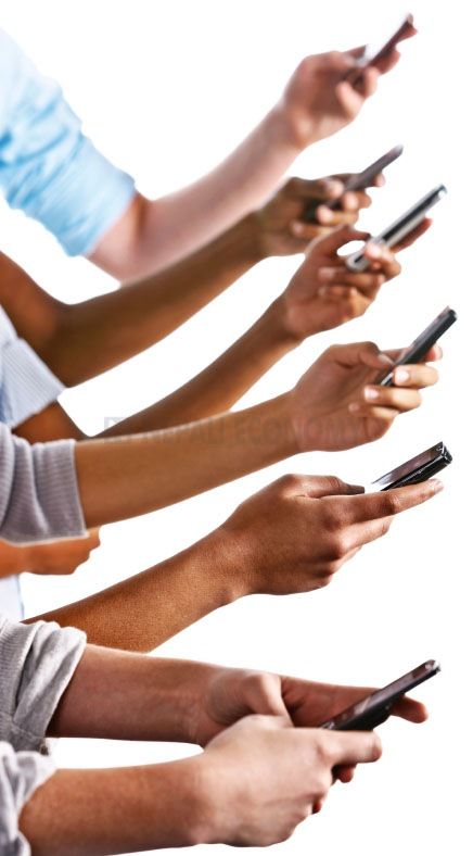 Mobile data traffic up by 70 per cent annually in fourth quarter