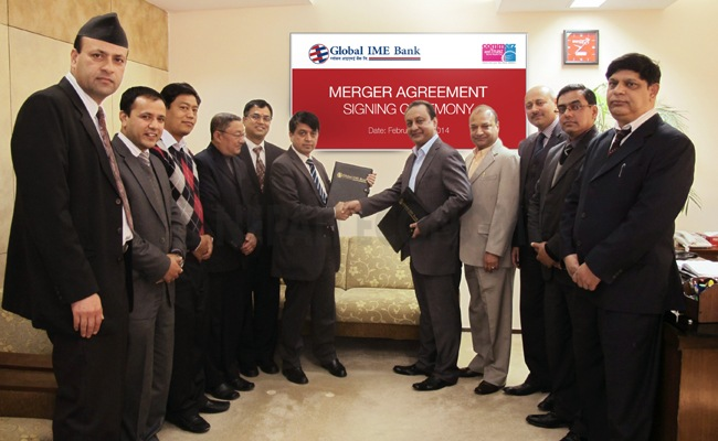 Global IME Bank, Commerz and Trust Bank Nepal to start operating as one unit after third quarter