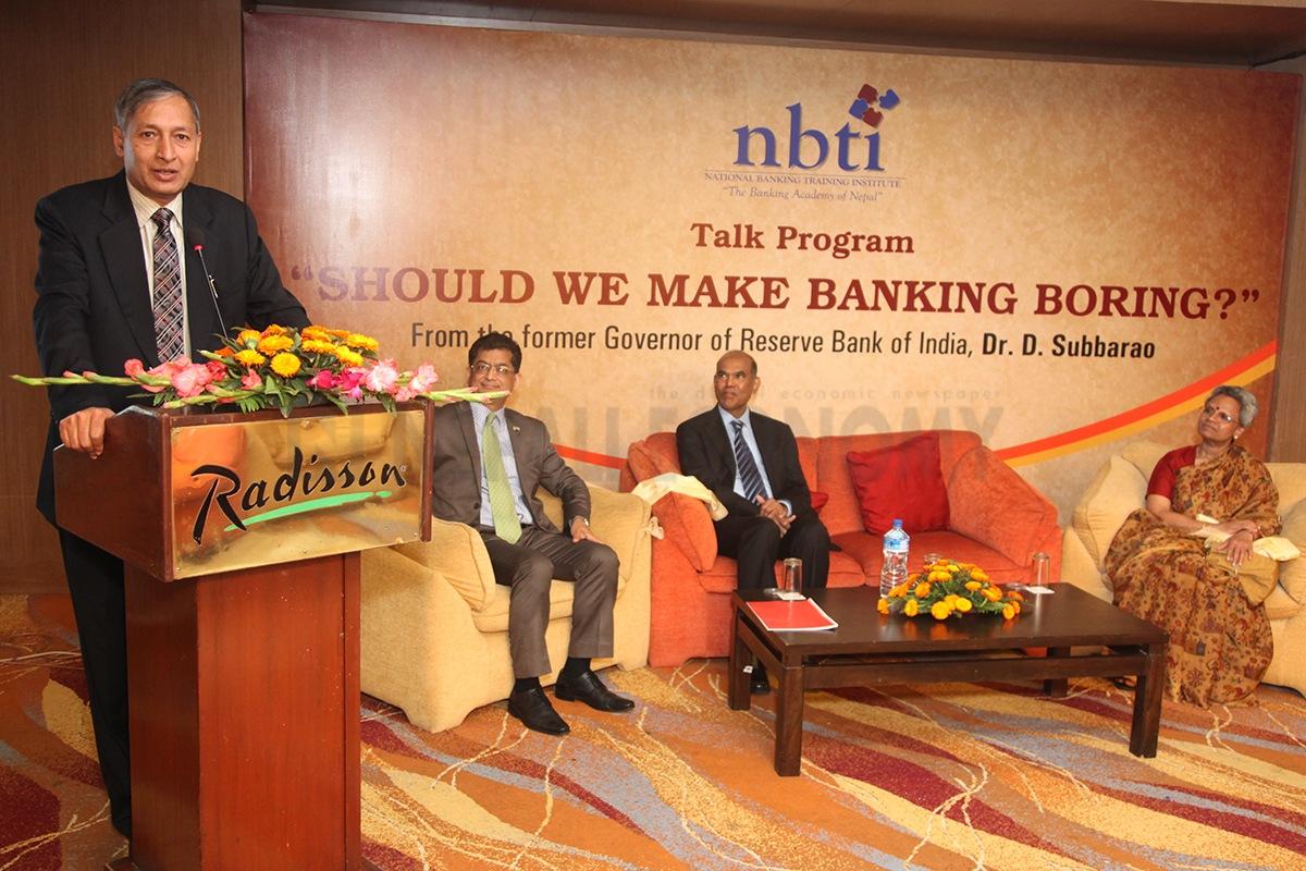 Prepare for new risks: D Subba Rao