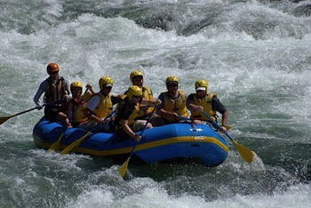 Sun Koshi named one of the best rivers for rafting