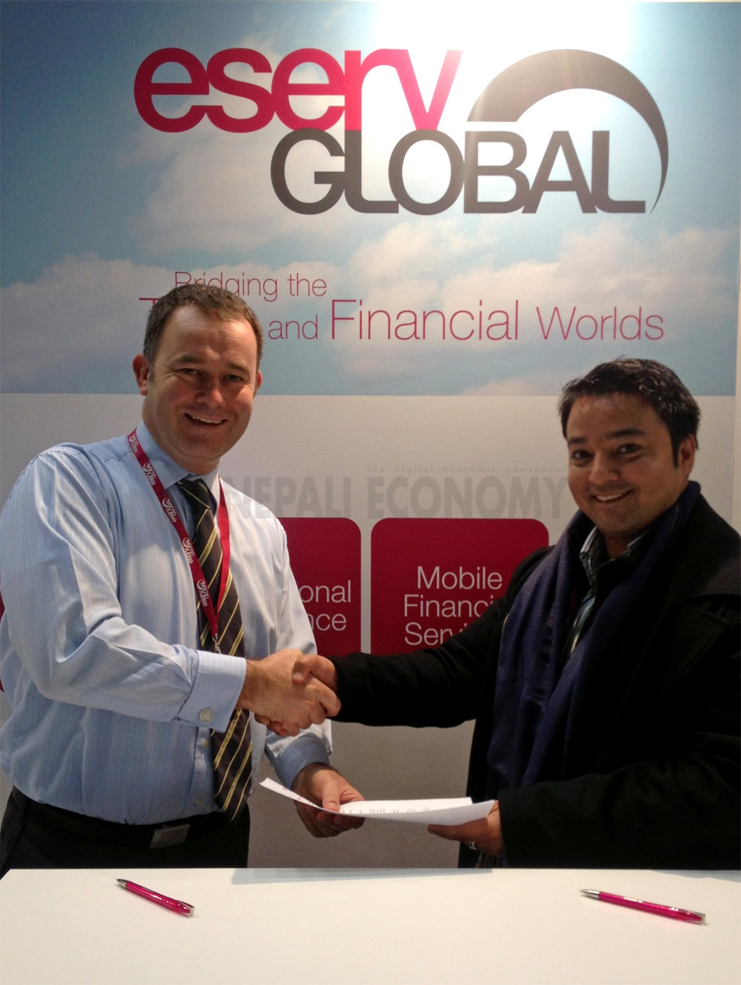 eServGlobal and MNepal to Offer Mobile Financial Service Solution in Nepal