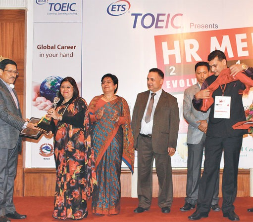 Thapa bags HR Manager of the Year