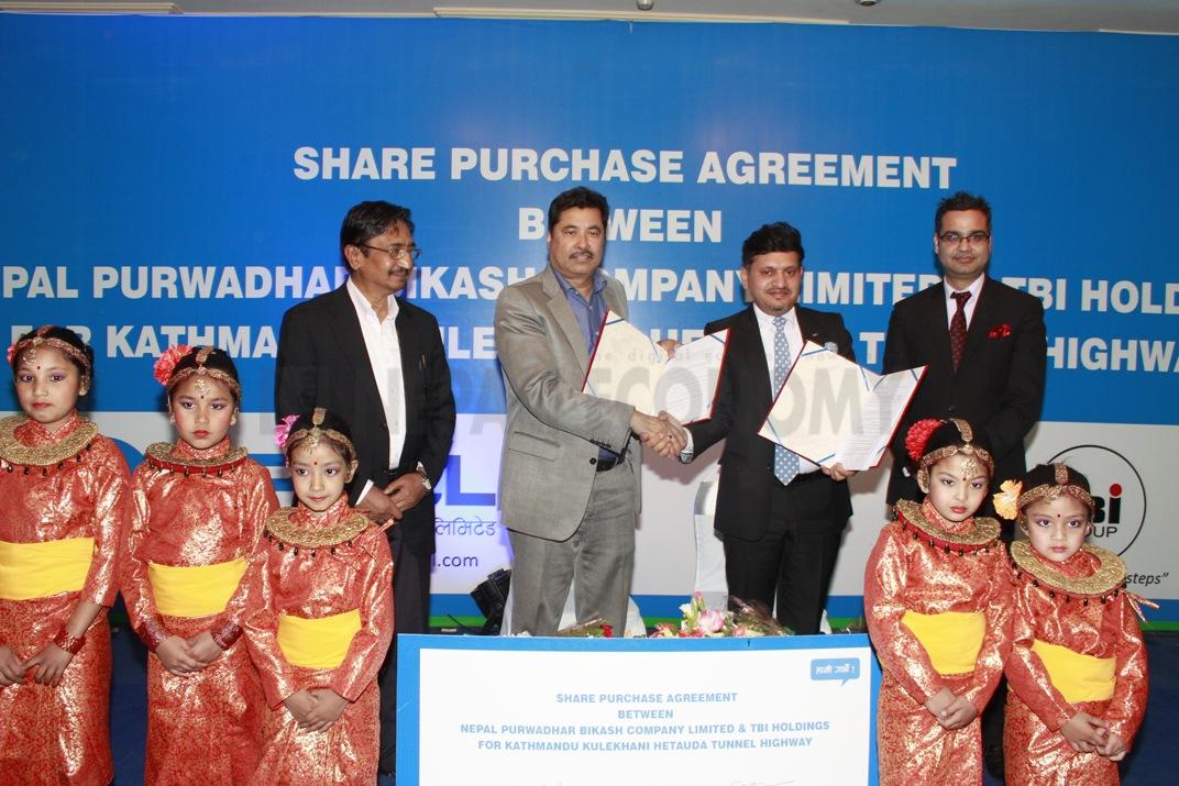 TBi Holdings Japan to invest in Kathmandu-Hetauda tunnel highway
