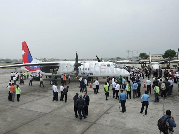 China-made aircraft for NAC finally lands at TIA