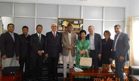 Canadian business delegation keen in invest in Nepal