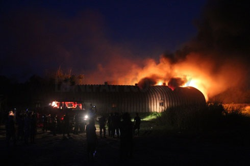 Fire engulfs Birgunj customs warehouse