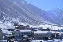 Avalanche halts rescue works in Langtang