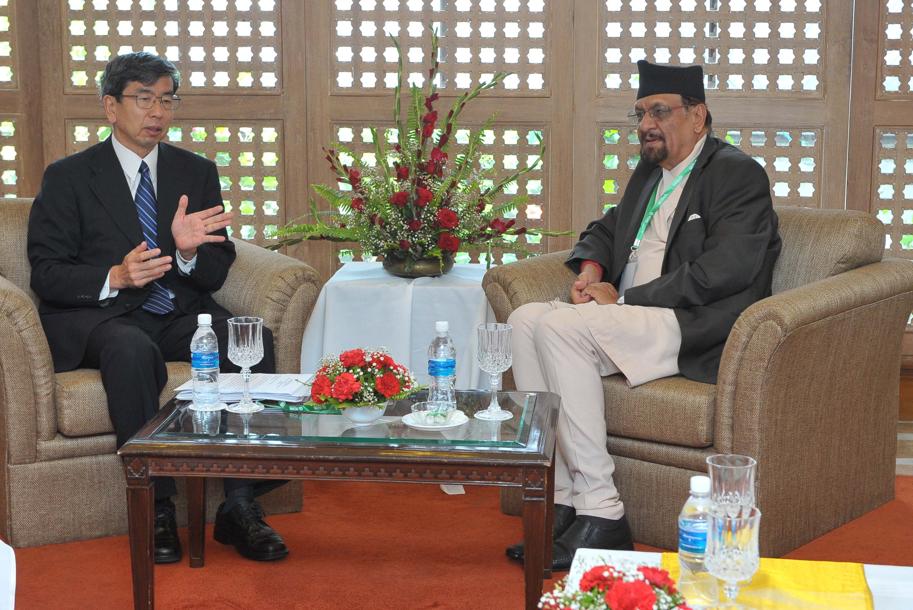 June 25-ADB Prez with FM of Nepal Dr. Ramsharan Mahat
