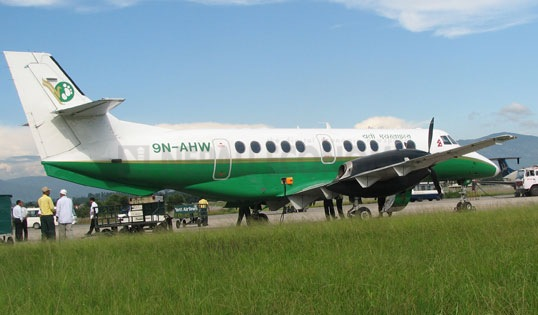 Yeti Airlines makes emergency landing after bird-hit